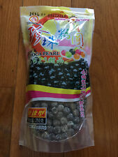 WuFuYuan Black Color Tapioca Pearl Boba Bubble Tea Balls Ready in 5 Mins 8.8 oz
