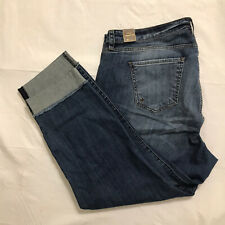 KUT From The Kloth Ankle Straight Leg Jeans Plus Size 22W Stretch Denim NWT