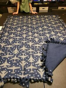 Jet Double Sided Fleece Blanket