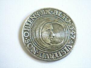 Medaille Münze Lüneburger Taler 1547 Nachprägung von 1982 Burganlage Mondsichel