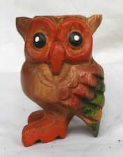 Hand Made Wooden Owl Hooter - Owl Call Whistle - BNWT