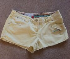 River Island boardshorts lime vintage cotton jean denim shorts 10