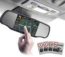 App-Tronics SmartNav 5r, Rearview mirror with GPS and Radar Radar Detector