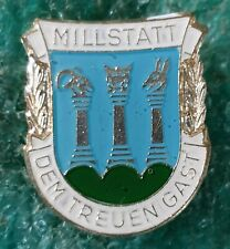 MILLSTATT AUSTRIAN CLIMBING MOUNTING OLD PIN BADGE