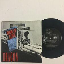 Dragon Book Of Love (Mark Hunter) EXc  1989 Single