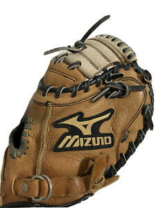 Mizuno GXC 102 Youth Baseball Catchers Mitt  Prospect Series Right Hand Throw