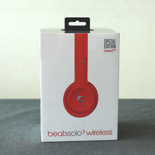 Special Edition Red Solo3 Bluetooth Wireless/Wired Earphone Headphone For Phones