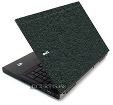 LEATHER Vinyl Lid Skin Cover Decal fits Dell Precision M6400 M6500 Laptop