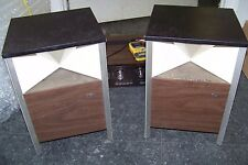 Pair 2 Vintage 70's RCA 150X Square Omni-Directional Stereo Speakers VERY RARE!