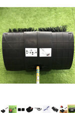 More details for 1.7kw 52cc handheld gas walk sweeper push sweeper cleaner brush sweeping broom