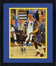 """Frmd Stephen Curry Golden State Warriors Signed 8"""" x 10"""" Shot vs. Lebron Photo"""