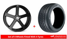 Insignia Cades 5 Car Wheels with Tyres