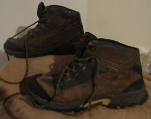 10.5 Mens Gander Mtn Mountain Boots Trail Climber Brown Hiking Leather Waterproo