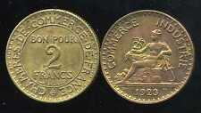 2 francs 1923 CHAMBRE DE COMMERCE  (jolie piece )