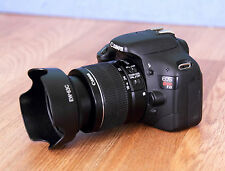 Canon EOS Rebel T2i / 550D 18.0 MP SLR Camera With 18-55mm IS II (2 LENSES)