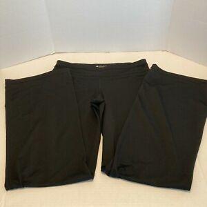Women's Ideology Believe in Movement Yoga Pants, Black, Size Medium