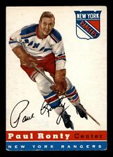 PAUL RONTY 54-55 TOPPS 1954-55 NO 15 VG+  17219
