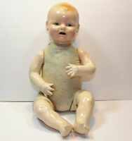 21 INCH EIH Horsman Baby Dimples Vintage Compo Composition Doll