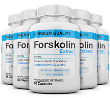 x5 Pure Weight loss Extreme 800mg FORSKOLIN Coleus Forskohlii 20% extract