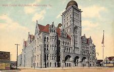 Philadelphia Pennsylvania~Quaker Oats Billboard c1909 Postcard