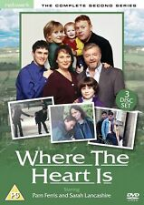 WHERE THE HEART IS the complete second series 2. Pam Ferris. New sealed DVD.