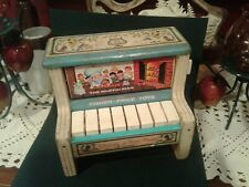 Vintage 1969 Fisher Price Change-A-Tune Piano 910 muffin man this old man weasel