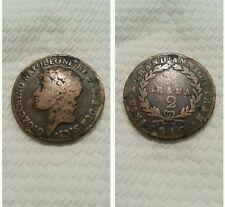 Regno di Napoli Gioacchino Napoleone Murat 2 grana 1810 bellissimo ++