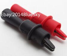 Fluke AC175 Alligator Clip Set red/black compatible with TL71,TL75,TL175,TP175