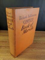 RICHARD HALLIBURTON'S COMPLETE BOOK OF MARVELS 1941 illustrated