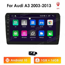 """For Audi A3 2003-2013 Android 10 9"""" 4-Core 1+16GB Car Stereo Radio GPS Wifi BT"""