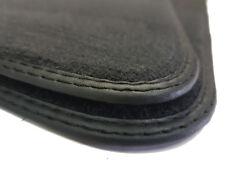 Fußmatten für Mercedes SL R129 // CABRIO Schwarz hochwertige Qualität Velours