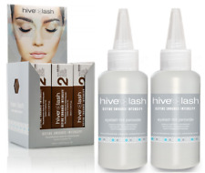 Hive Of Beauty Long Last Eyelash Eyebrow Tint Brown 20ml x 12 & 2 Free Peroxide