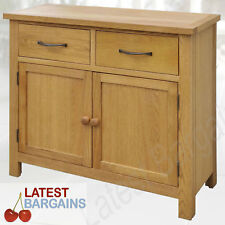 Wooden Buffet Sideboard Storage Cabinet Dresser Table Cupboard Drawers Timber