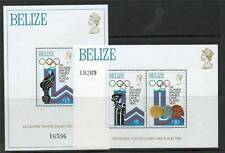 Olympics Mint Never Hinged/MNH Belizean Stamps (1973-Now)