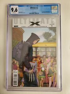 Ultimate X #1 CGC 9.6 White Pages 2010 First Appearance Jimmy Hudson Wolverine