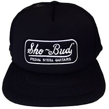 Sho-Bud Pedal Steel Guitars Embroidered Logo Adult Trucker Hat OFFICIAL