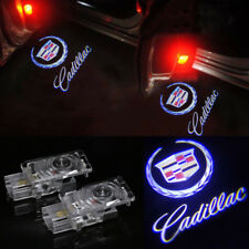 Ghost LED Door Step Courtesy Shadow Laser Light For Cadillac ATS XTS CTS SRX 2PC