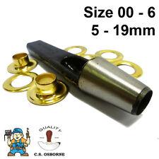 CS Osborne Professional Eyelet Hole Punch No.500