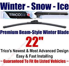 "22"" WINTER Wiper Blade - Super Premium Beam-Style - 2010-2014 - Trico ICE 35-220"