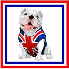 British Bulldog-Fun coche / la ventana de Sticker-Nuevo-Regalo / Actualidad-Plus 1 Gratis