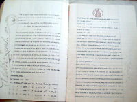 1937 VENDITA DI PODERI A NOVI DI MODENA PERSONE DI CAVEZZO, CAMPEGINE, ROVERETO