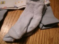 bitty baby boy doll blue cotton pants/alphabet and animal tee/socks 458