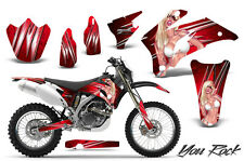 YAMAHA WR250F WR450F 2007-2011 GRAPHICS KIT CREATORX DECALS YRR