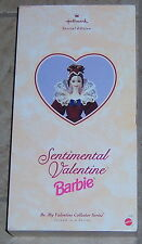Barbie Hallmark  Sentimental Valentine Barbie 2nd in Series MIB NRFB 1996 $50