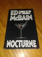 Nocturne by Ed McBain (1997, Hardcover) Book Club Edition #sn