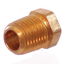 1-8 Npt Female to 1-4 Npt Male Brass Bushing - Air Fitting