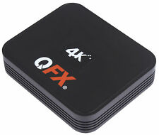 Qfx Android 6.0 4K Tv Box & WiFi Wireless Router with Remote Hdmi Cable Included