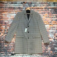 River Island Mens Wool Overcoat Brand New With Tags RRP £90 Size XL