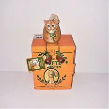 Original Kathe Wohlfahrt Duftl Mannchen Smoky Cat | New Open Box