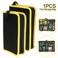 Multifunction Electrician Repair Tool Bag Zipper Storage Pouch Organizer Home